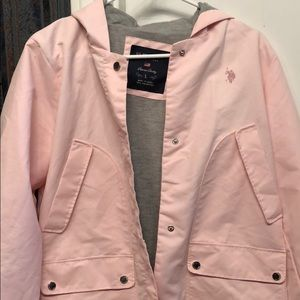 US Polo Assn Pink Jacket